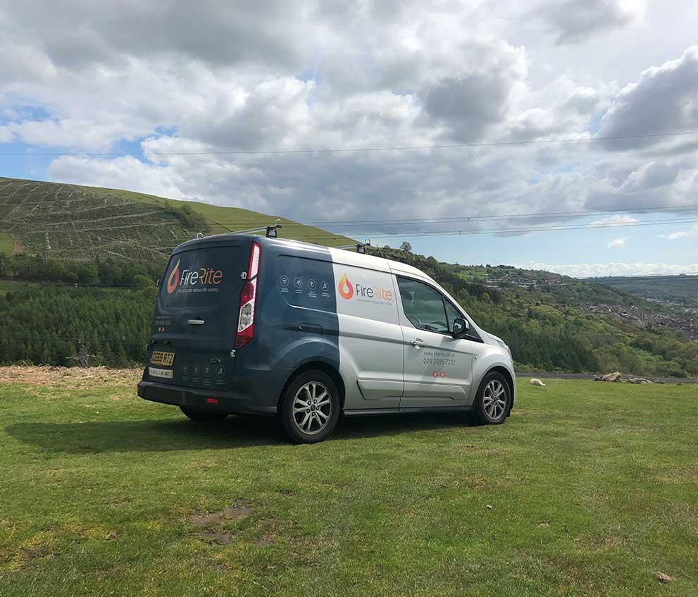 Firerite Van In The Hills